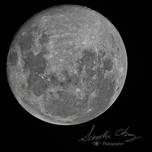 3rd and last night of the April Full Moon | by Sandra L Chung