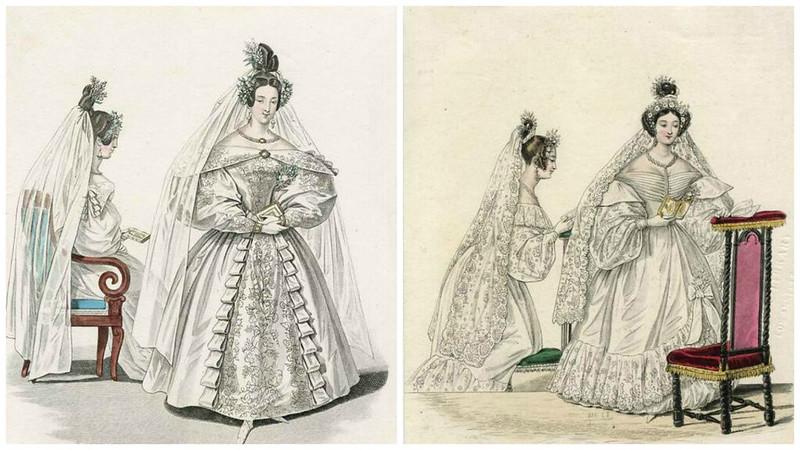 Журнал мод 1830е