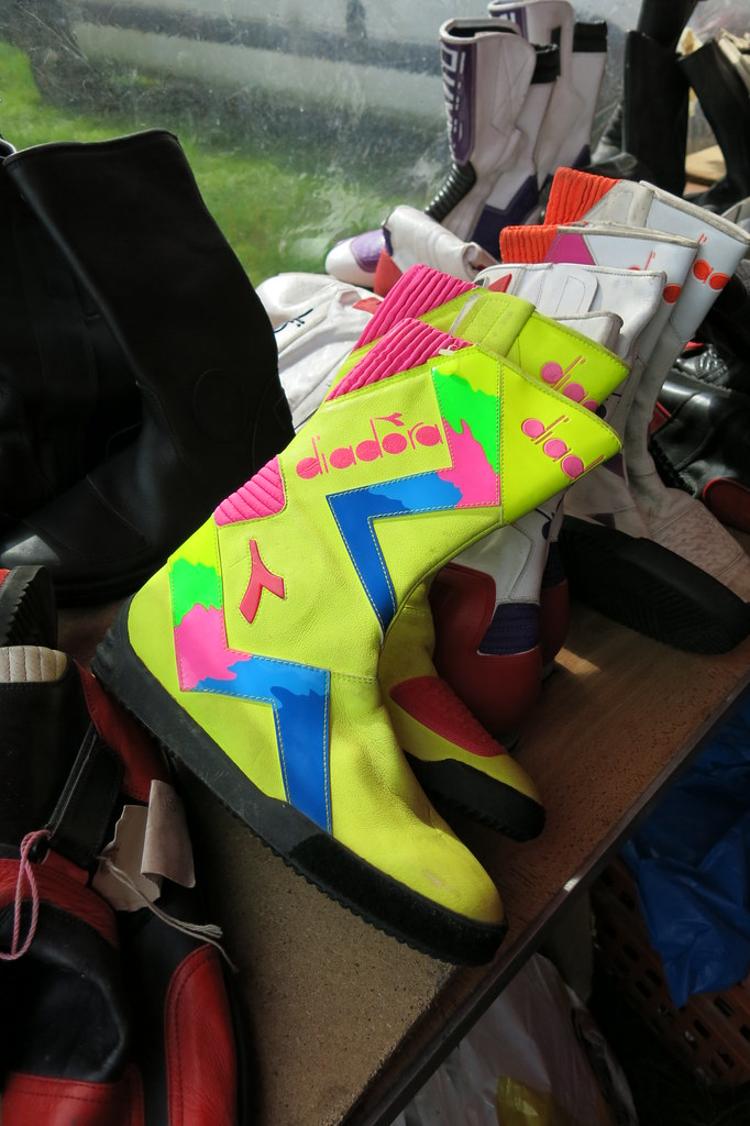 Diadora Motorcycle Boots   Last week I was amazed to see a g…   Flickr