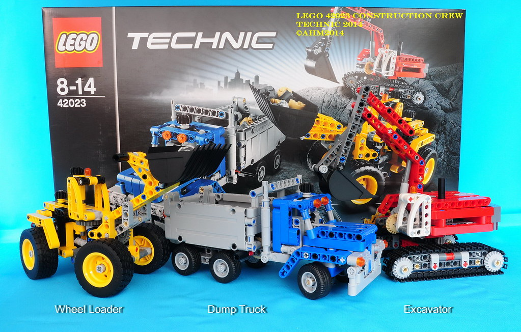 Lego technic 42023 construction crew lego technic 42023 - Jeux de construction lego technic ...