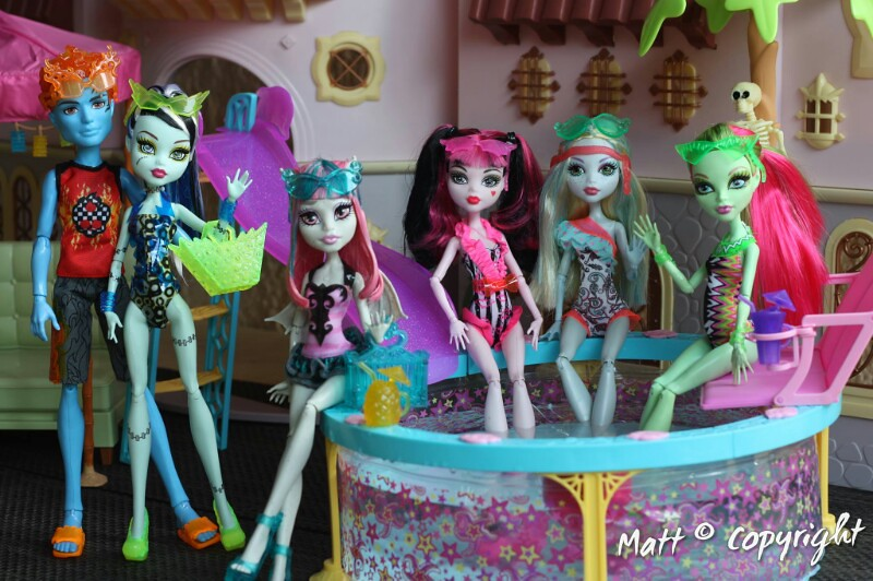 Beat the heat with monster high swim class dolls flickr