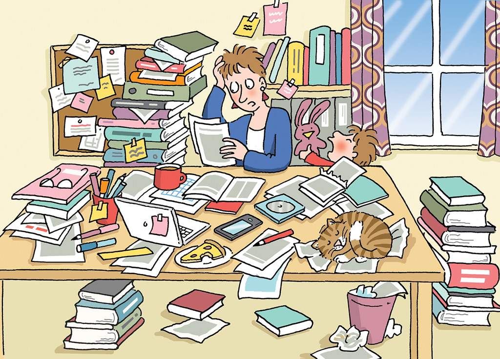 Messy Living Room Cartoon Images