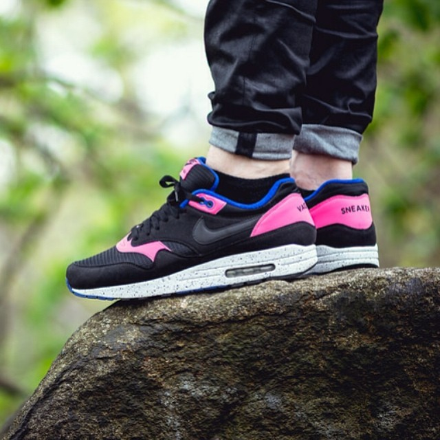 Air Max 1 Id Rose De Minuit