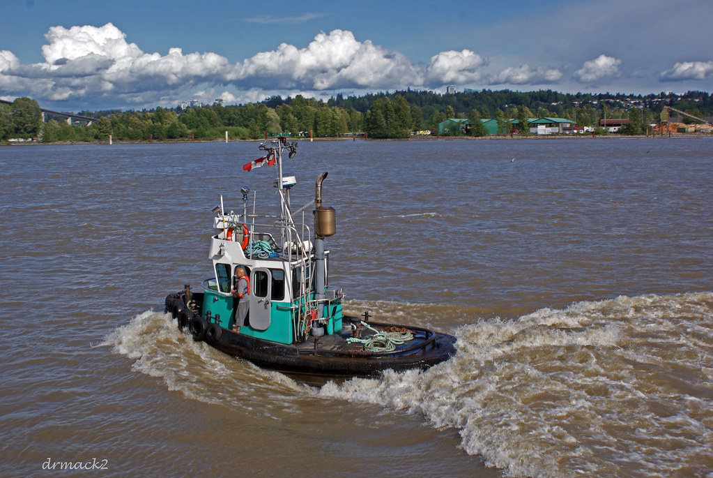 Image result for Tugboat in waves