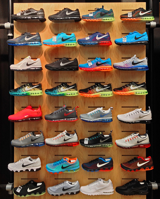 the mall nike shoes flickr photo