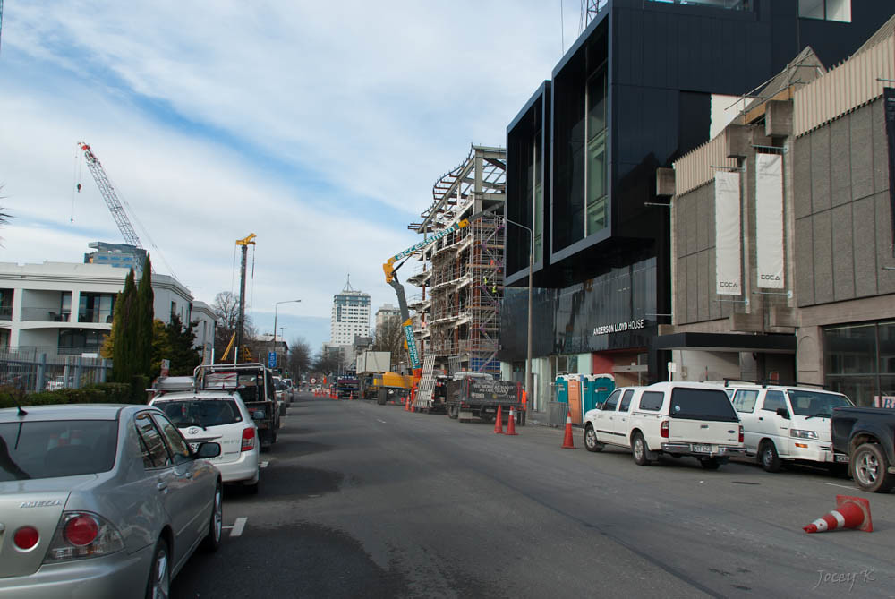 One bowled over new building awly investments complex for 151 cambridge terrace christchurch
