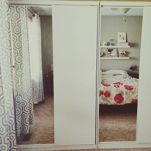 husband new closet morvik ikea wardrobe system how luck. Black Bedroom Furniture Sets. Home Design Ideas