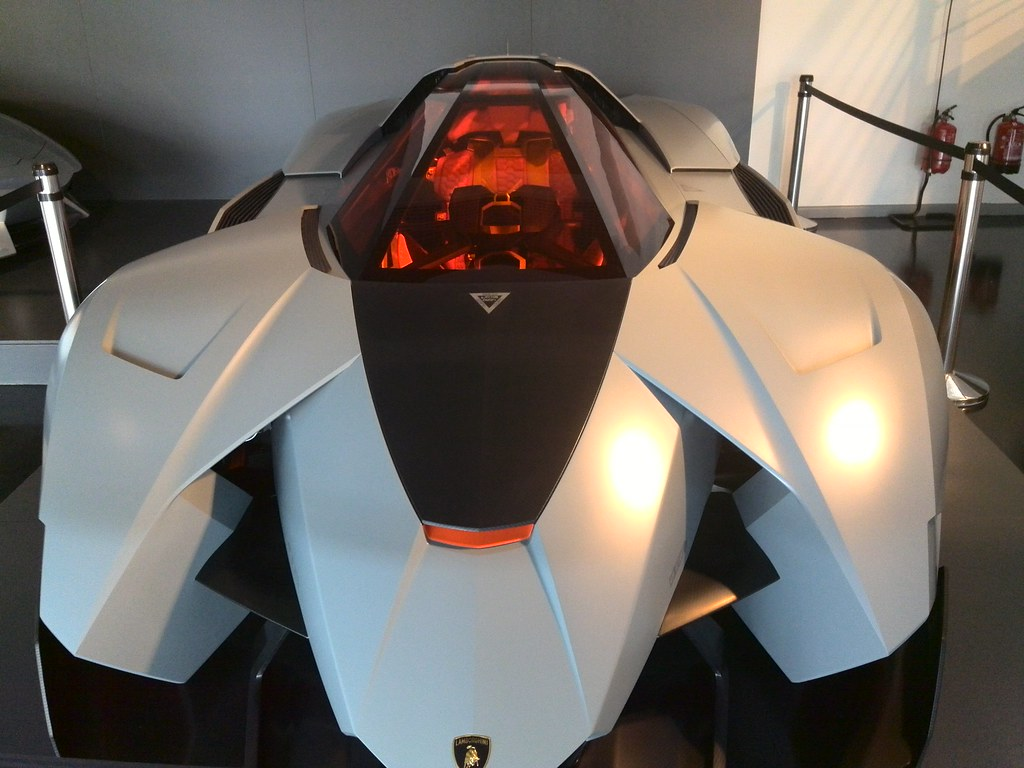 Lamborghini Egoista Frytheonly Flickr