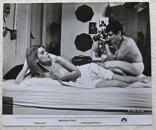 1969 MEDIUM COOL Film Still MARIANNA HILL And ROBERT FORST ...