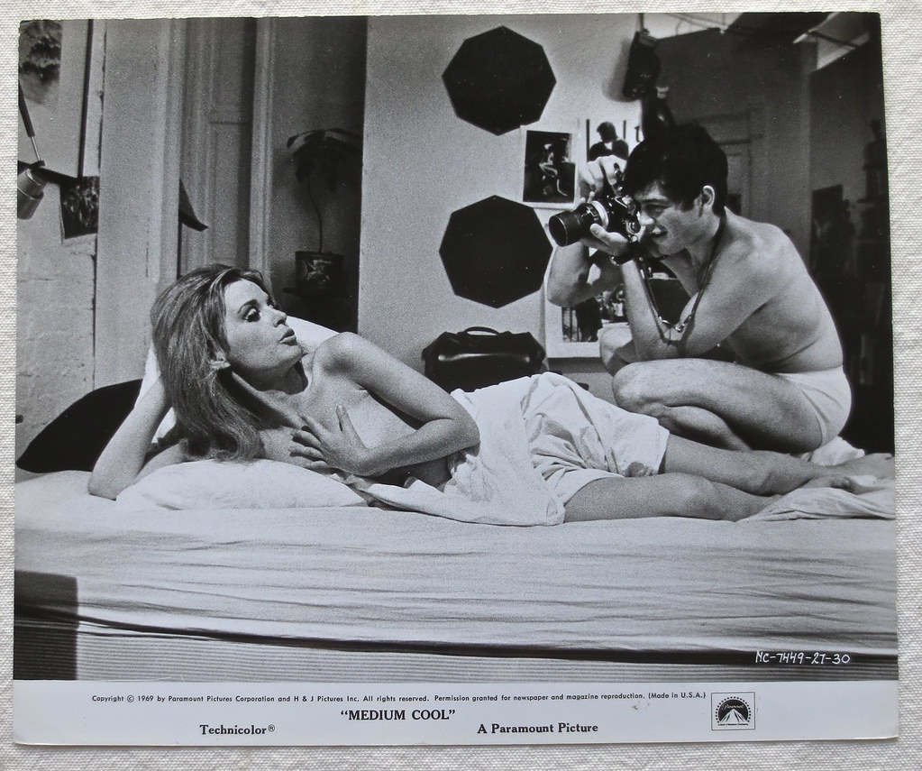 1969 MEDIUM COOL Film Still MARIANNA HILL And ROBERT FORST… | Flickr