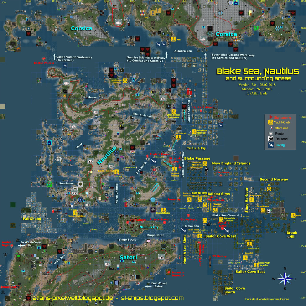 Blakesea Nautilus And Surrounding Areas V 02 201