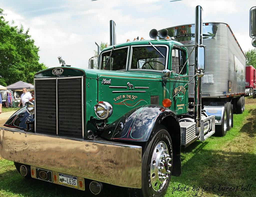 1950 To 1965 Mack Trucks : Mack ltl god bless the men that save these