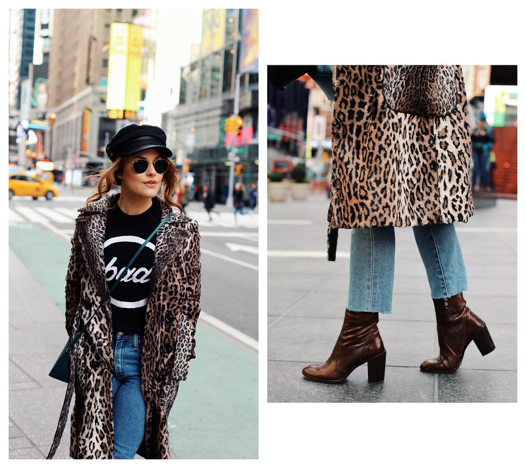 The Little Magpie Karen Millen Leopard Coat