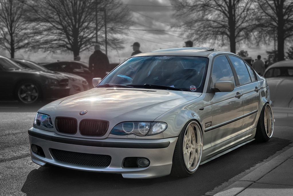 BMW M3 E46 Stanced Cars Coffee Of The Upstate