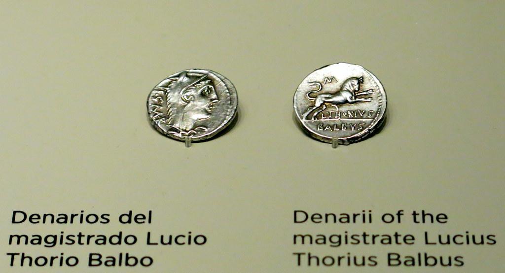 Museo Arqueológico Nacional: denarios
