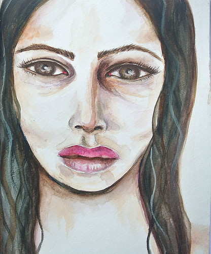A-sad-girl-in-watercolour