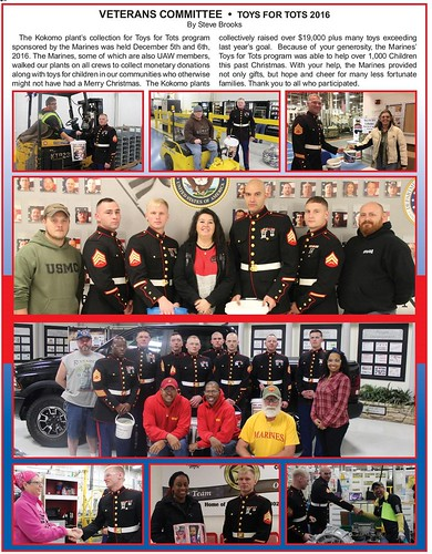 Vets Toys for Toys 2016
