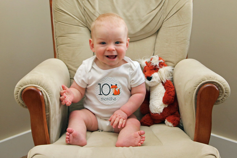 Jonathan is 10 Months Old!