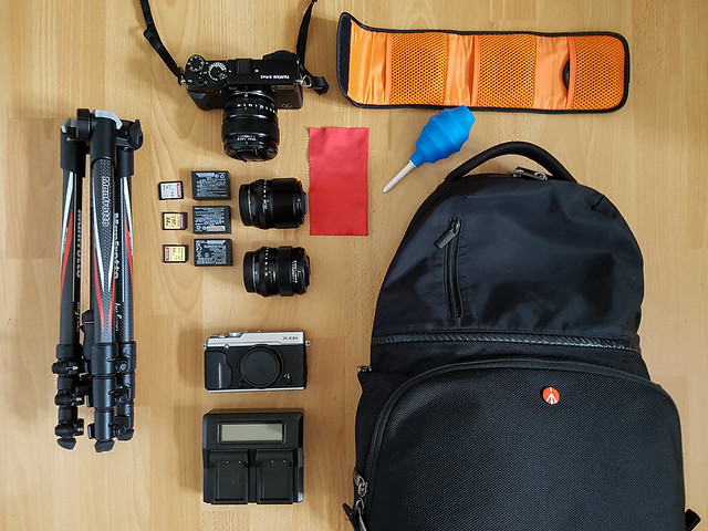 What's in my bag, Iceland 2017