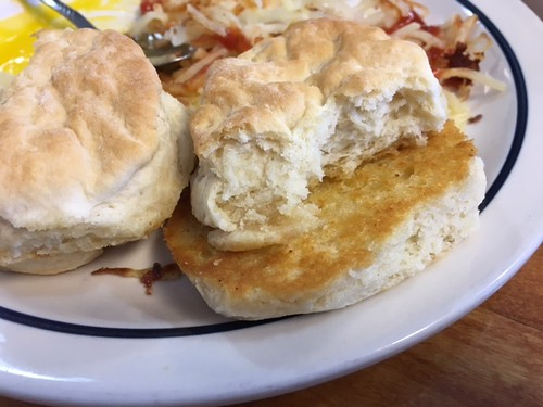 Biscuits at Pearl's. From 7 Family-Friendly Food Spots in and Around Hocking Hills, Ohio
