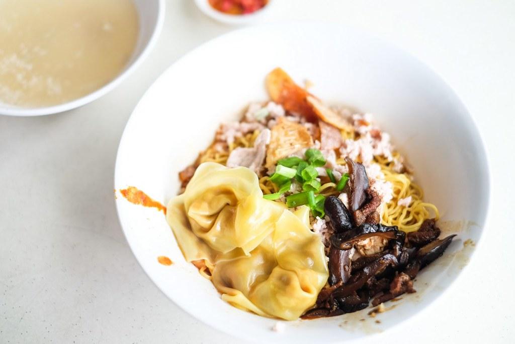 西餐早餐:阿角蘑菇肉末米家