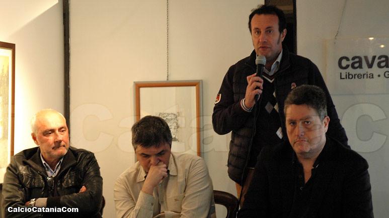In senso orario: Alessandro Vagliasindi, Filippo Solarino, Alessandro Russo e Giacomo Cagnes