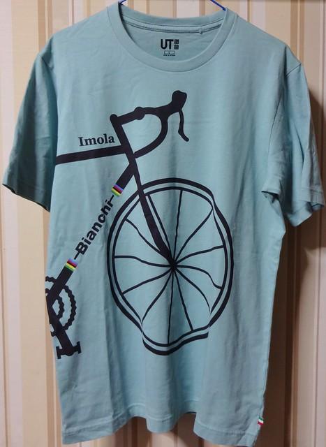 ユニクロ ビアンキTシャツ #2