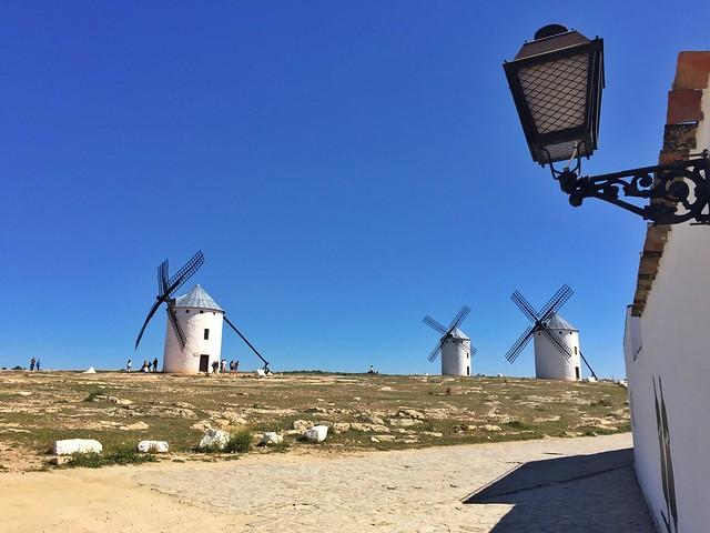 Molinos de Campo de Criptana (Ciudad Real) Un clásico de la Ruta del Quijote en coche