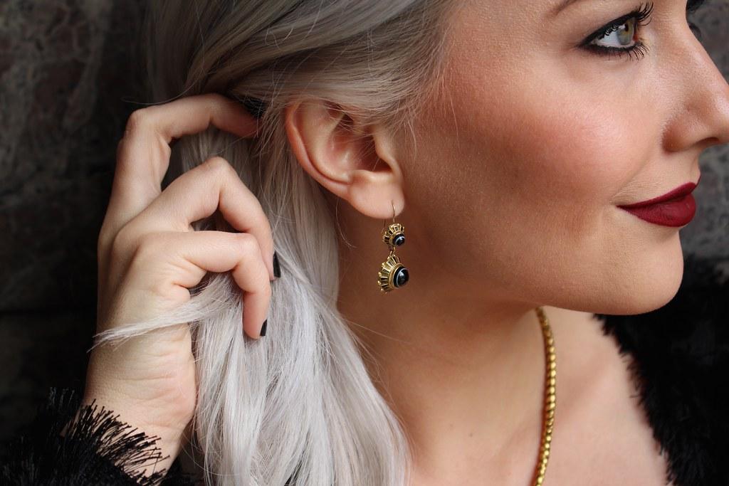 Gold Hatpin | Gem Gossip