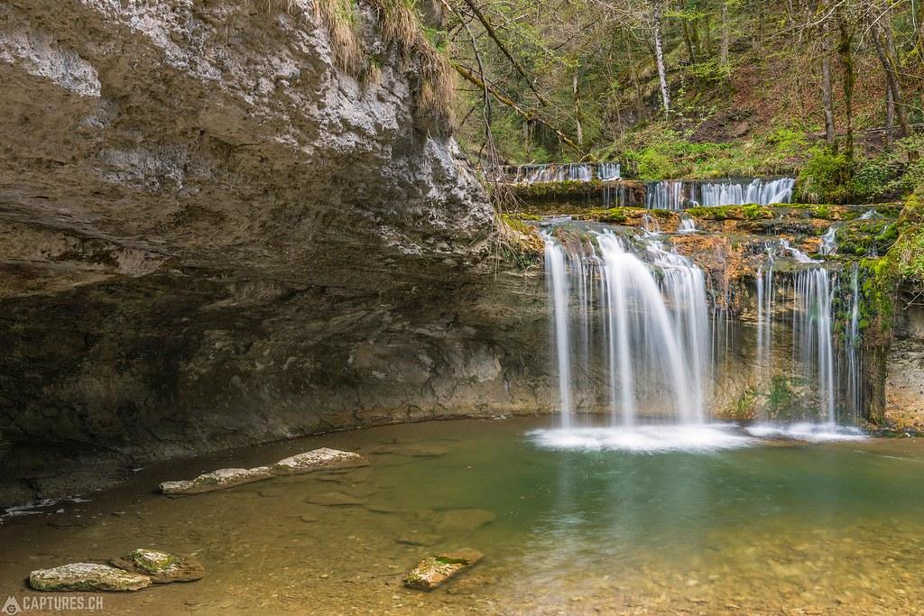 Cascades de Hérisson 3 - France Jura