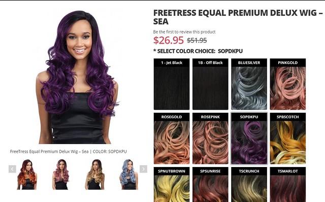 freetress wig