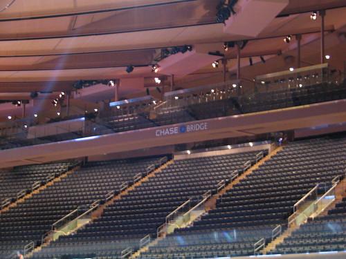 Madison Square Garden: The AMAZING New Chase Bridge At Madison Square Garden