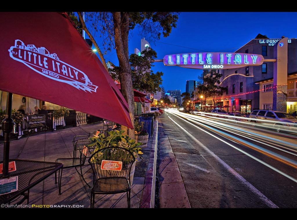 Pizza Restaurants Little Italy San Diego