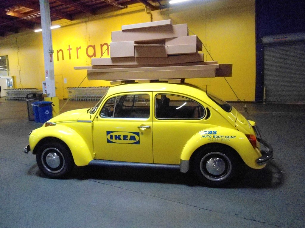 Ikea Volkswagen 1973 Super Beetle Vw In Seattle At Renton