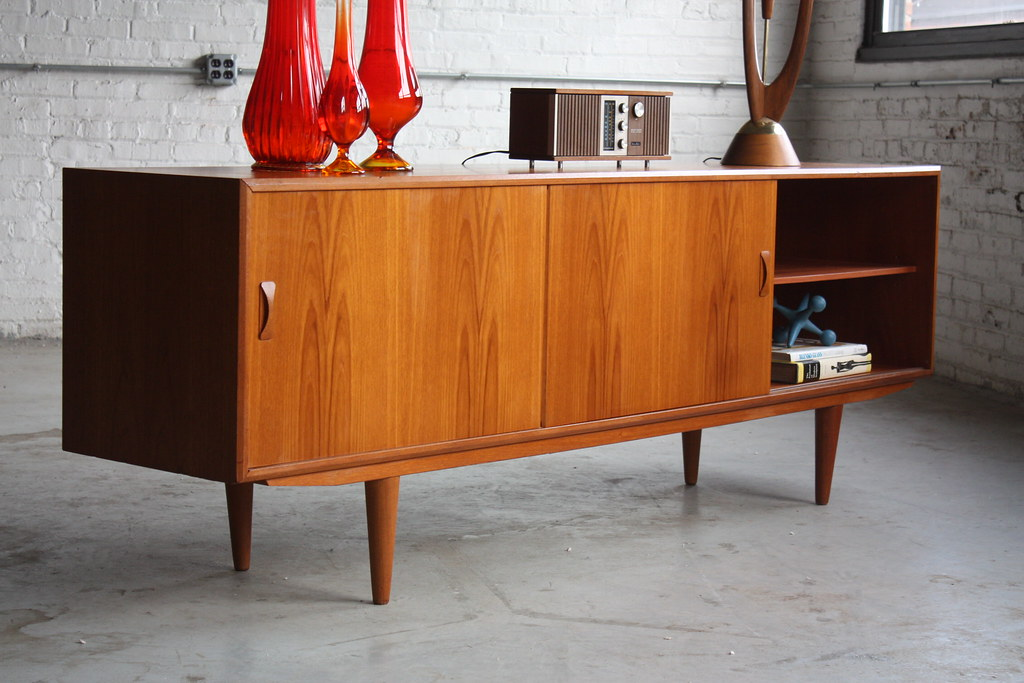 Danish Modern Credenza Sideboard : Danish domination mid century modern clausen son long t