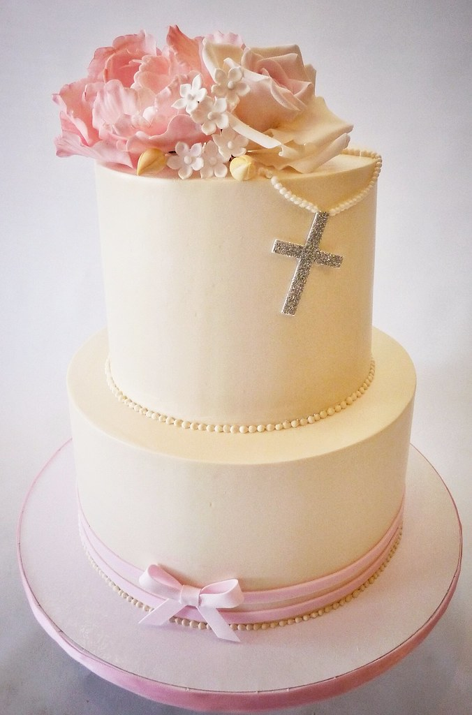 Designs For First Communion Cakes