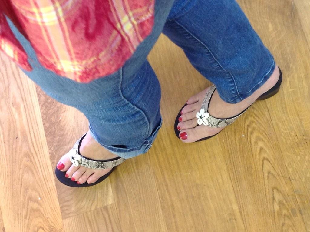 Mature flip flop on flickr