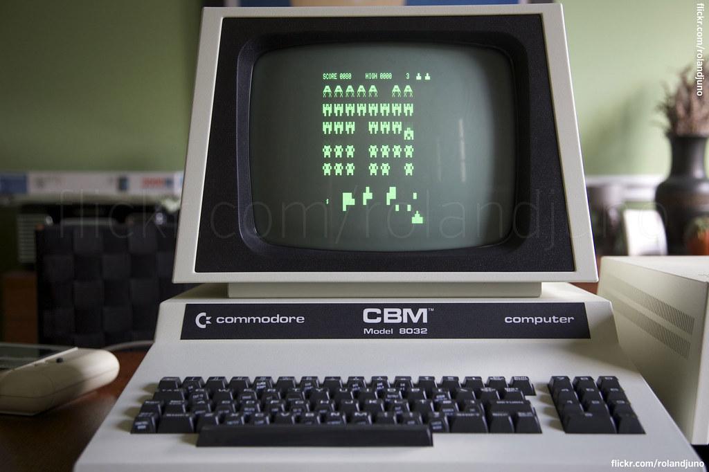 Commodore CBM PET 8032 running Space Invaders | RolandJuno | Flickr