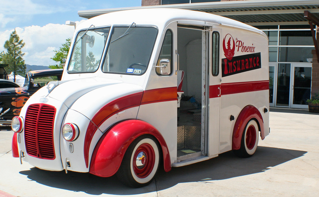 Divco Milk Truck Street Rod Coconv Flickr