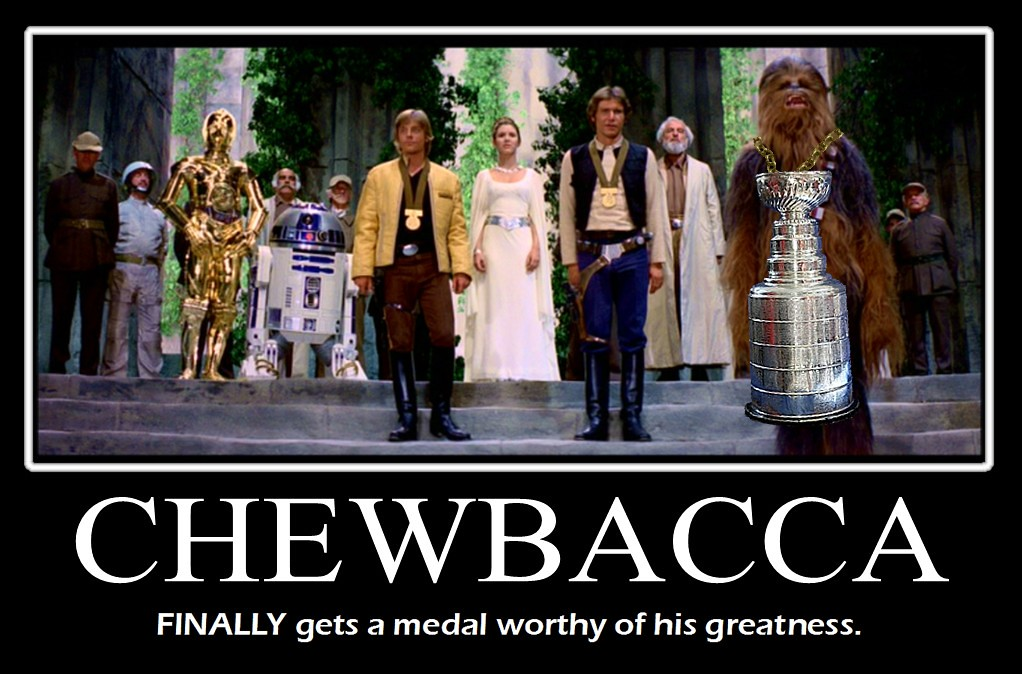 star wars chewbacca finally gets his medal dont try