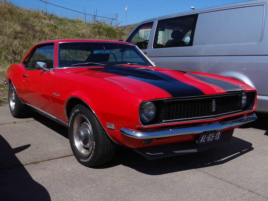 1968 Chevrolet Camaro Rs 28 April 2013 Zandvoort Netherl Flickr By Skitmeister