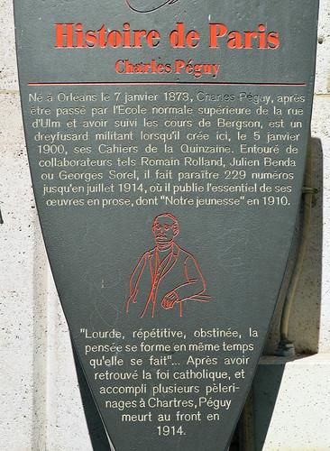 charles p guy plaque 21 rue des foss s saint jacques flickr. Black Bedroom Furniture Sets. Home Design Ideas