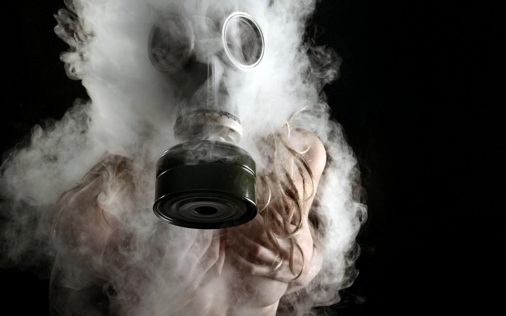 Smoke Weed Masks Creative Photography Wallpaper