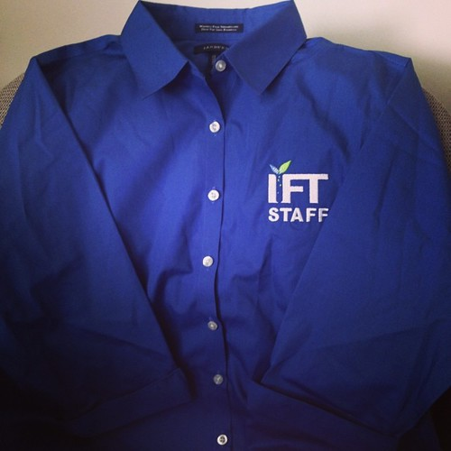 Be on the lookout for these shirts when you are at #ift14 in #nola. That's what your friendly IFT staff members will be wearing. Feel free to ask us for help! | by IFT Meetings