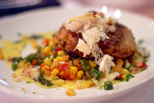 Pan Seared Crab Cake at Skates on the Bay (Berkeley CA) | by claramichelle