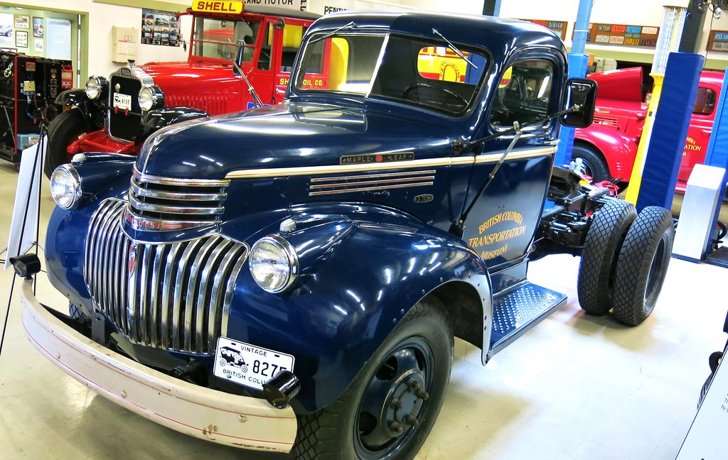 New Chevy Truck >> 1946 Chevrolet Maple Leaf Model 1760 3-Ton Truck   B.C. Vint…   Flickr