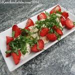 Erdbeer-Mozzarella-Salat