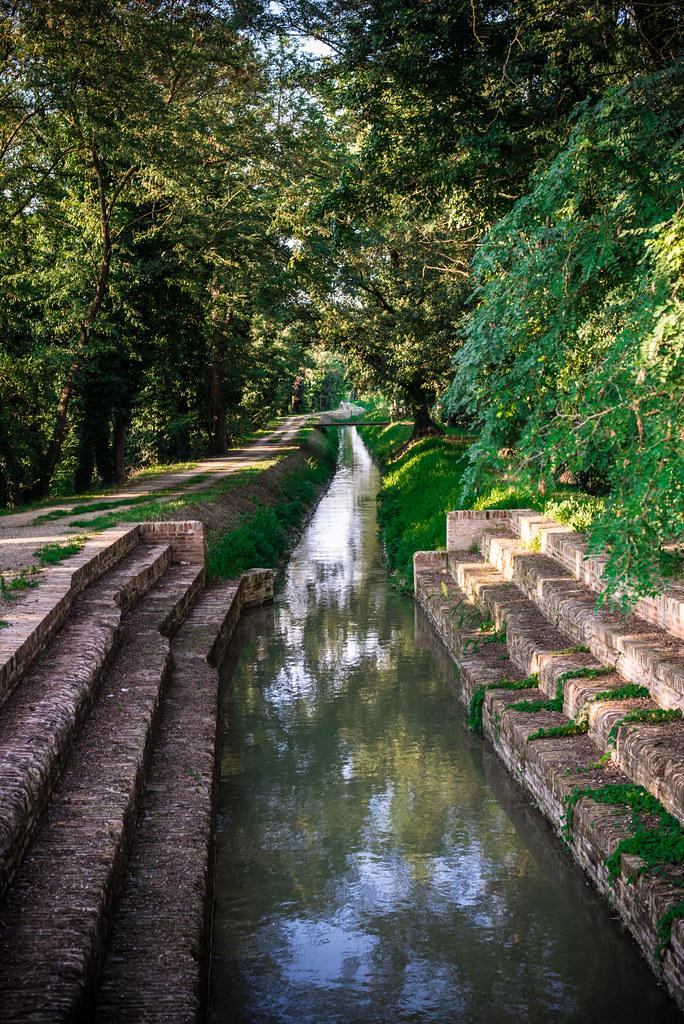 Nordic walking bassa romagna lugo canale dei mulini for Canale camera dei deputati