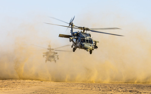 Apache and Sea Hawk joint fire exercise [Image 17 of 24] | by DVIDSHUB