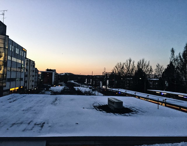 SunsetViewWinterFinlandHelsinki